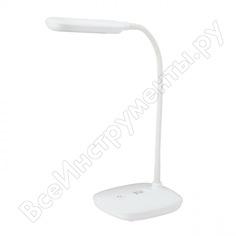 Настольный светильник эра nled4806ww белый б0045268