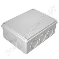 Распределительная коробка промрукав безгалогенная hf 200х150х75 б 16шт 40-0321