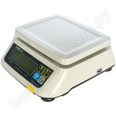 Весы cas swn-30c-dd 810swm303gci0101