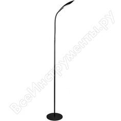 Напольный светильник-торшер camelion kd-806 c02 черный, led, 5вт, 230в, 4000к, 480лм 12727