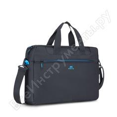 """Сумка для ноутбука и документов rivacase laptop bag black, 16"""" 8057"""