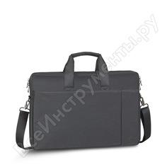 """Сумка для ноутбука и документов rivacase laptop bag black, 17.3"""" 8257"""