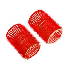 Dewal, Бигуди-липучки, красные, 36х63 мм