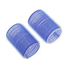 Dewal, Бигуди-липучки, синие, 40х63 мм