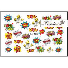 Freedecor, Слайдер-дизайн «Аэрография» №186