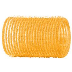 Dewal, Бигуди-липучки, желтые, 32 мм
