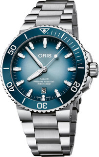 Швейцарские мужские часы в коллекции Aquis Мужские часы Oris 733-7730-41-75MB