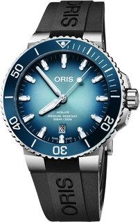 Швейцарские мужские часы в коллекции Aquis Мужские часы Oris 733-7730-41-75RS