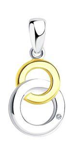 Серебряные кулоны, подвески, медальоны Кулоны, подвески, медальоны SOKOLOV 87030021_s