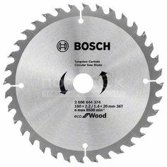 Диск пильный по дереву Bosch Eco for wood 36 зубцов, 160x20 мм