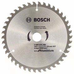 Диск пильный по дереву Bosch Eco for Aluminium 42 зубца, 160х20 мм