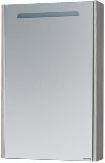 Зеркальный шкаф 50х78 см дуб фьорд Акватон Сильва 1A215502SIW6L