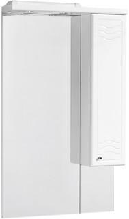 Зеркальный шкаф 65х110,3 см белый глянец R Акватон Домус 1A008202DO01R