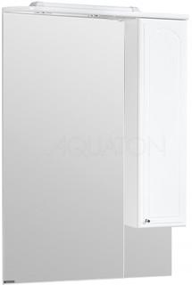 Зеркальный шкаф 75х110,7 см белый R Акватон Майами 1A047502MM01R