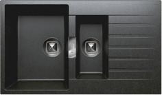 Кухонная мойка Tolero черный TL-860 №911