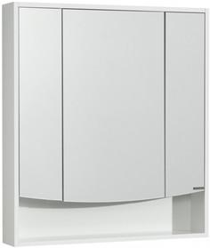 Зеркальный шкаф 76х85 см белый глянец Акватон Инфинити 1A192102IF010