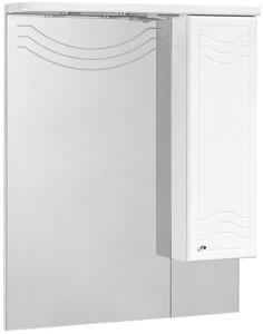 Зеркальный шкаф 88х108,4 см белый глянец R Акватон Домус 1A001002DO01R