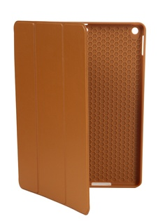 Чехол Gurdini для APPLE iPad 10.2 Retina Leather Series Pen Slot Light Brown 911375