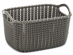 Корзина Curver Knit XS 3L Dark Brown 03675-X59-00