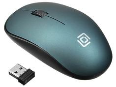 Мышь Oklick 515MW Black-Green 1018269