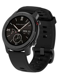 Умные часы Xiaomi Amazfit GTR 42mm Starry Black Выгодный набор + серт. 200Р!!!