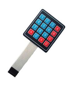 Конструктор Радио КИТ RC004 - миниатюрная матричная пленочная клавиатура 4х4