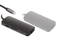Док-станция Perfeo USB Type-C 8in1 PF-Type-C-22