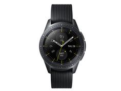 Умные часы Samsung Galaxy Watch 42mm Deep Black + Strap Sport N Black-Grey SM-R810NZKASER Выгодный набор + серт. 200Р!!!