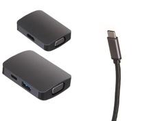 Док-станция Perfeo USB Type-C 4in1 PF-Type-C-17