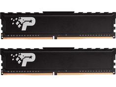 Модуль памяти Patriot Memory SL Premium DDR4 DIMM 2666Mhz PC21300 CL19 - 8Gb Kit (4Gbx2) PSP48G2666KH1