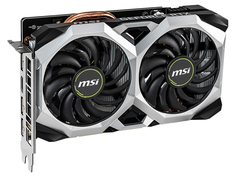 Видеокарта MSI GeForce RTX 2060 1710Mhz PCI-E 3.0 6144Mb 14000Mhz 192 bit HDMI 3xDP RTX 2060 VENTUS XS 6G OC Выгодный набор + серт. 200Р!!!