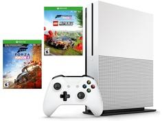 Игровая приставка Microsoft Xbox One S 1Tb + Forza Horizon 4 + Lego DLC 234-01131
