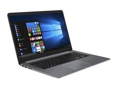 Ноутбук ASUS VivoBook S510UN-BQ417T Grey 90NB0GS5-M08800 (Intel Core i5-8250U 1.6 GHz/4096Mb/1000Gb + 16Gb SSD/nVidia GeForce MX150 2048Mb/Wi-Fi/Bluetooth/Cam/15.6/1920x1080/Windows 10 Home 64-bit)