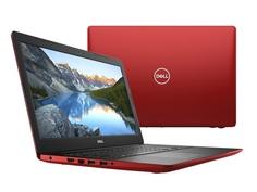 Ноутбук Dell Inspiron 3580 Red 3580-8413 (Intel Celeron 4205U 1.8 GHz/4096Mb/500Gb/Intel HD Graphics/Wi-Fi/Bluetooth/Cam/15.6/1366x768/Linux)
