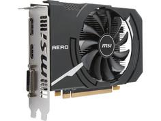 Видеокарта MSI Radeon RX 550 1203Mhz PCI-E 3.0 4096Mb 6000Mhz 128 bit DVI DP HDMI HDCP RX 550 AERO ITX 4G OC Выгодный набор + серт. 200Р!!!