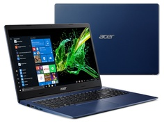 Ноутбук Acer Aspire A315-55G-583S Blue NX.HG2ER.002 (Intel Core i5-8265U 1.6 GHz/8192Mb/256Gb SSD/nVidia GeForce MX230 2048Mb/Wi-Fi/Bluetooth/Cam/15.6/1920x1080/Windows 10 Home 64-bit)