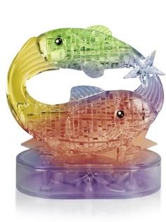 3D-пазл DIY House Магический кристалл Рыбы со светом 9042A