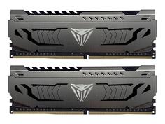 Модуль памяти Patriot Memory Viper Steel DDR4 DIMM 3000MHz PC-24000 CL16 - 64Gb Kit (2x32Gb) PVS464G300C6K