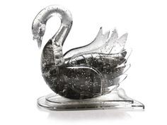 3D-пазл DIY House Магический кристалл Лебедь со светом 9004A