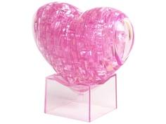3D-пазл DIY House Магический кристалл Сердечко со светом 29021A