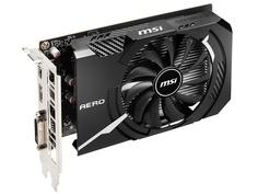 Видеокарта MSI GeForce GTX 1650 D6 Aero ITX OC 1620MHz PCI-E 3.0 4096Mb 12000Mhz 128-bit DL-DVI-D DP HDMI