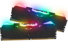Модуль памяти Patriot Memory Viper RGB DDR4 DIMM 3200MHz PC-25600 CL16 - 32Gb Kit (2x16Gb) PVR432G320C6K
