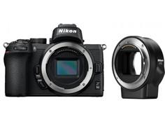 Фотоаппарат Nikon Z50 Body с адаптером FTZ