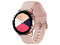 Умные часы Samsung Galaxy Watch Active SM-R500 Rose Gold SM-R500NZDASER Выгодный набор + серт. 200Р!!!