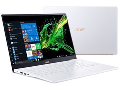 Ноутбук Acer Swift SF514-54GT-594M White NX.HU7ER.001 (Intel Core i5-1035G1 1.0 GHz/8192Mb/512Gb SSD/nVidia GeForce MX350 2048Mb/Wi-Fi/Bluetooth/Cam/14.0/1920x1080/Windows 10 Home 64-bit)