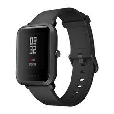 Умные часы Xiaomi Huami Amazfit Bip Black / Onyx Black Выгодный набор + серт. 200Р!!!
