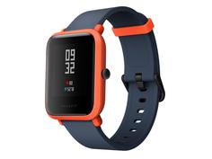 Умные часы Xiaomi Huami Amazfit Bip Orange / Cinnabar Red & Strap White Выгодный набор + серт. 200Р!!!