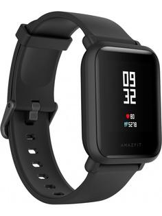 Умные часы Xiaomi Amazfit Bip Lite Black Выгодный набор + серт. 200Р!!!
