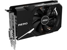 Видеокарта MSI GeForce GTX 1650 Super 1740Mhz PCI-E 3.0 4096Mb 12000Mhz 128 bit DP HDMI DVI-D HDCP GTX 1650 SUPER AERO ITX OC Выгодный набор + серт. 200Р!!!