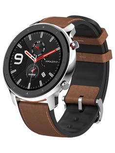 Умные часы Xiaomi Amazfit GTR 47mm Stainless Steel A1902SS Выгодный набор + серт. 200Р!!!